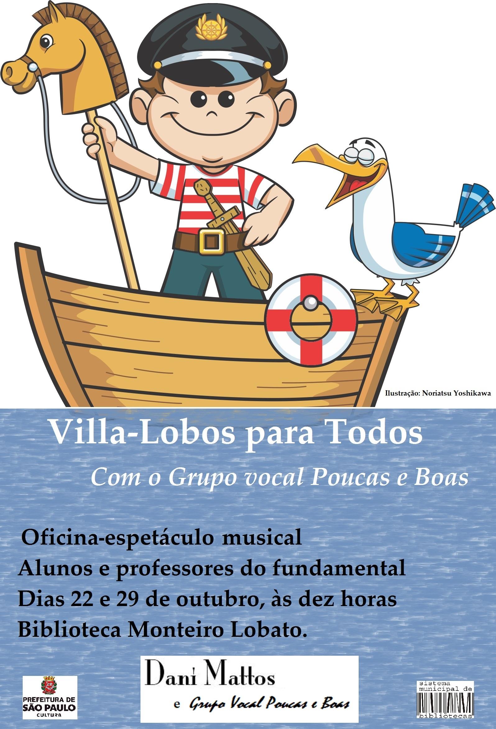 Cartaz II VilLa Lobos